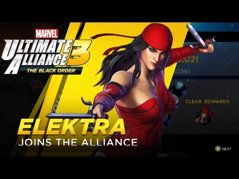 Marvel Ultimate Alliance 3 - Unlocking Elektra From Infinity Trials