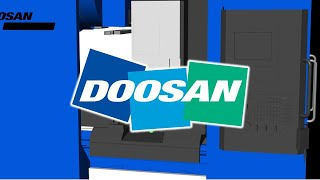 DOOSAN DNM200/5AX Machine Tool CNC Simulation With NCSIMUL