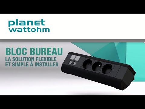 Bloc bureau Planet Wattohm : nouvelles solutions de connexion