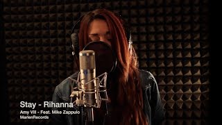 ( Rihanna Cover ) Stay - Amelia Villano ft. Mike (From Romantic Lies) Official Cover Video