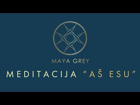 "Meditacija ""Aš esu"""