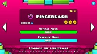 Geometry Dash 2.1 - Fingerdash All Coins! (95% Fail)