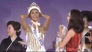 Miss International 2014 Crowning Moment Valerie Hernandez