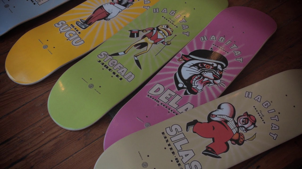 Celluloid Series - HabitatSkateboards