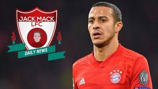 Thiago Alcântara To Liverpool FC? Daily LFC News