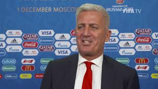 Vladimir PETKOVIC – Switzerland - Final Draw Reaction