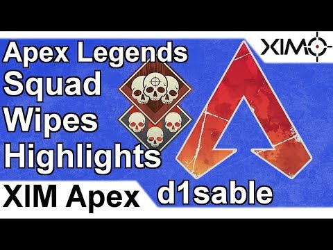 XIM APEX - Apex Legends Solo Squad Wipes Highlights by d1sable (PS4)