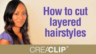 Cutting Layers At Home - How To Cut Layered Hairstyles