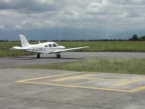 Rodaje a Pista aeronave Escuela de Aviación del Pacífico Ltda
