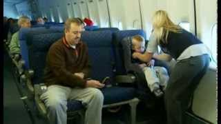 Installing a Child Restraint System (CRS) on an Airplane