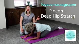Pigeon- Deep Hip Stretch