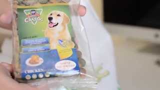 Dog food taste test!