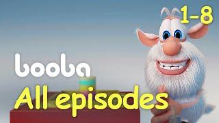 Booba Animated shorts compilation (Episodes 8-1) funny cartoons буба KEDOO Animations 4 kids