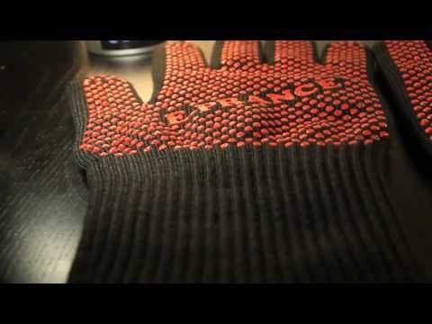 guanti bbq antifiamma con fibra in kevlar