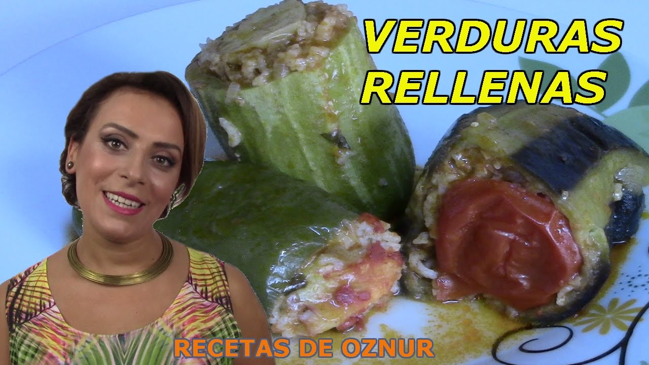 VERDURAS RELLENAS DE CARNE (ETLI DOLMA) | recetas de cocina faciles rapidas y economicas de hacer