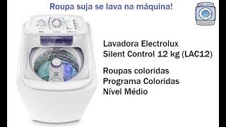 Lavadora Electrolux Silent Control 12 kg (LAC12) - Coloridas/Nível Médio
