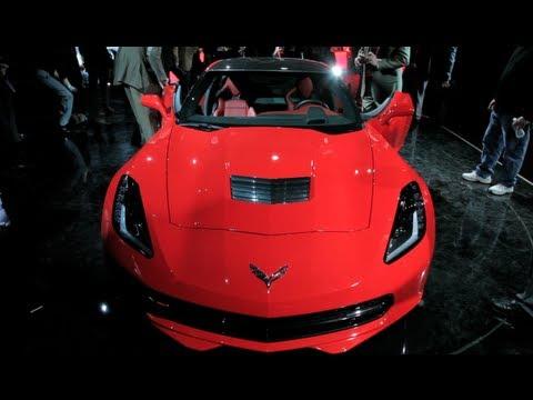 2014 Chevrolet Corvette Stingray - 2013 Detroit Auto Show