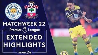 Leicester City v. Southampton | PREMIER LEAGUE HIGHLIGHTS | 1/11/2020 | NBC Sports