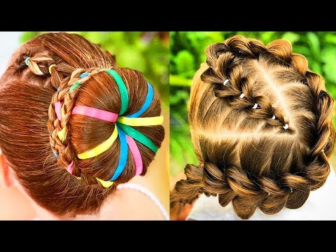 ✨UNIQUE BRAID HAIRSTYLES FOR GIRLS | Best Makeup Tutorials 2018 | Woah Beauty