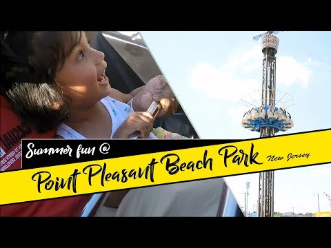 SUMMER FUN [#15]: Point Pleasant Beach Park Rides And Fun Activities For Kids