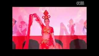 chinese ribbon dance --- 飛天綢帶舞