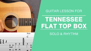 Tennessee Flat Top Box - Guitar Lesson - Johnny Cash