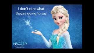Let It Go Karaoke In G Major ( 1 Pitch)