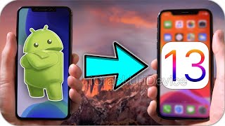 How to SWITCH from Android to iPhone iOS 13 in Seconds Without a Jailbreak! (iOS 13 - 13.2)