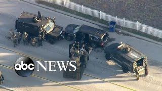 San Bernardino Shooting Suspects' Violent Standoff with Police