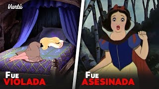 Escalofriantes datos de las historias de Disney