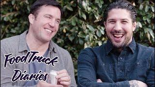 Chael Sonnen | Food Truck Diaries | BELOW THE BELT with Brendan Schaub