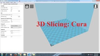 How to 3D print with Cura Software (in Hindi)