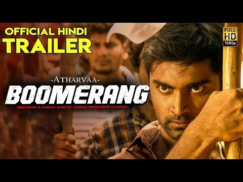 BOOMERANG (2019) Official Hindi Trailer | Atharvaa, Megha Akash | New South Movies 2019