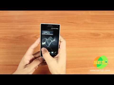 Preview SONY XPERIA S - สัมผัสชีวิตแบบ HD