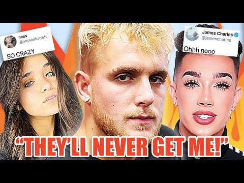 Jake Paul FBI RAID, Nessa Barrett DRAGGED For FART, James Charles and Manny MUA SHADE Alicia Keys