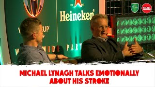 Michael Lynagh: My stroke experience & recovery