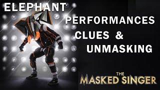 Elephant: CLUES, PERFORMANCES, UNMASKING | THE MASKED SINGER | SEASON 3