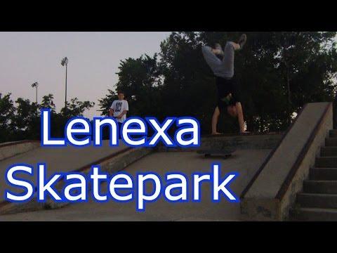 Lenexa Skatepark Overview