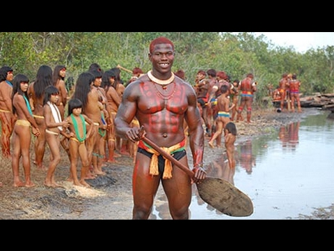 ISOLATED Amazon Tribes Xingu | African Tribe Traditions and Ceremonies[Part 14]