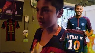 Toxic Anthony- Burning Neymar Jersey (Gone Wrong Almost burned our house down))