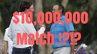 Tiger Woods & Phil Mickleson $10,000,000 Match