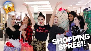 MY SUBSCRIBERS GET A FREE SHOPPING SPREE WITH ME!