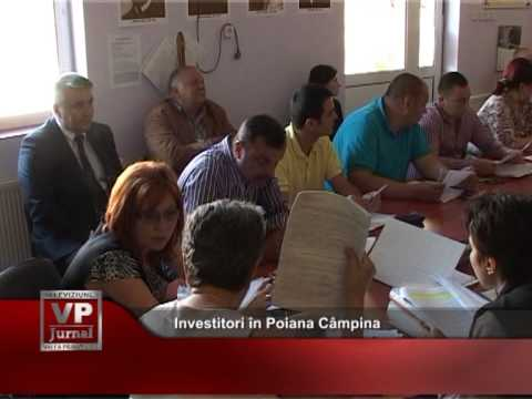 Investitori în Poiana Câmpina