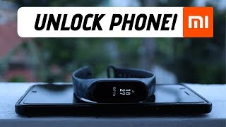 Mi Band 3 - How to Unlock your Phone | Smart Lock | 2019