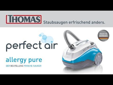 Der Staubsauger für Allergiker THOMAS perfect air allergy pure