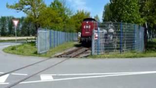 preview picture of video 'OHE MaK 160075 bei Bock in Marschacht, Oldershausen und Salzhausen, 21.05.2010'