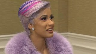Cardi B Dishes on the Super Bowl, the State of the Union and More! (Full Interview)