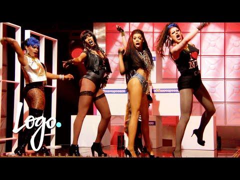 RuPaul's Drag Race (Season 8 Ep.2) | 'Bitch Perfect' Drag-Appella Sing Off!! | Logo