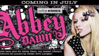 AVRIL LAVIGNE: ABBEY DAWN (NEW NEW NEW CLOTHING LINE!!)
