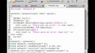 FPS game (OpenGL,SDL,C++) tutorial 10 - skybox class - hmong video
